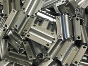 Formed mild steel brackets