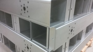 3mm mild steel laser cut housings