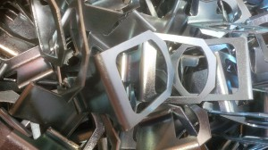 Zinc plated mild steel brackets