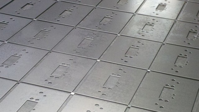 CNC punching sheetmetal work