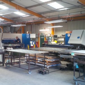 CNC punch presses ready for action