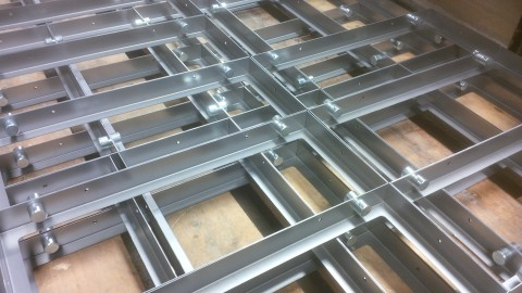 Mild steel sheet metal work