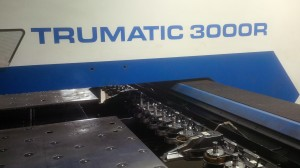 CNC punching sheet metal tooling