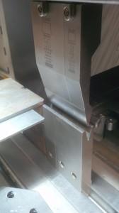 CNC press brake folding tooling
