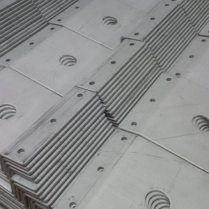 Sheet metal working - zintec brackets