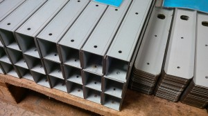 Formed mild steel channels