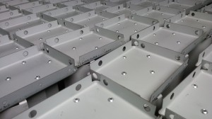 Sheet metal presswork and assembly