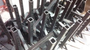 Sheet metal MiG welded fabrications