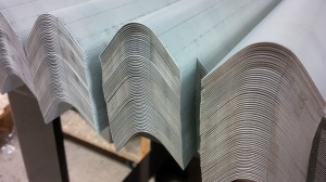 Formed sheet metal sections