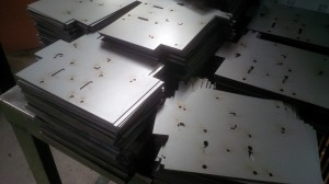 Mild steel laser cut chassis blanks