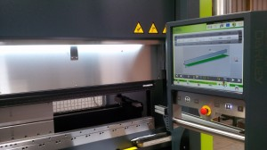 CNC press brake progamming
