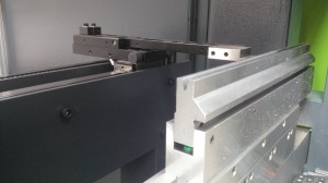 Safe edge bend tooling
