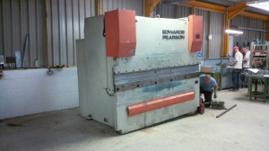 Edwards Pearson CNC press brake
