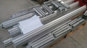 Bent stainless steel sections