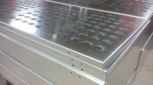 Aluminium sheet metal enclosures