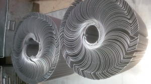 Mild steel formed sections