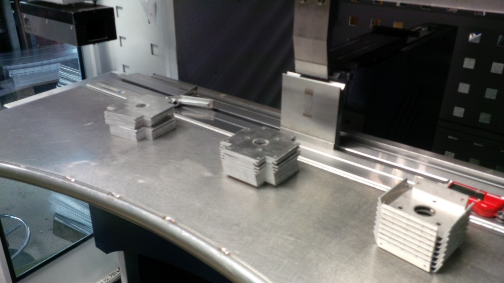 CNC bending sheet metal work