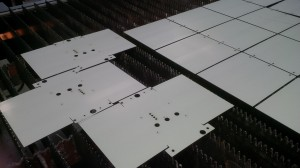 Laser cutting sets of sheet metal parts