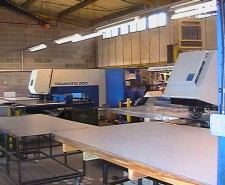 CNC punching sheet metal work in Hampshire