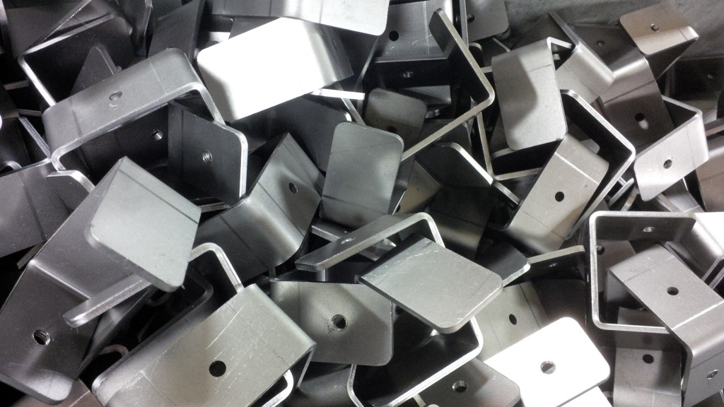 Laser cut sheet metal brackets
