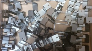 Brackets with many bends