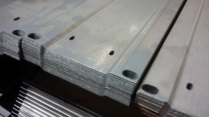 Sheet metal formed sections