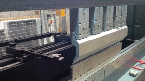 CNC press brake bend tooling
