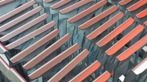 Folded stainless steel brackets
