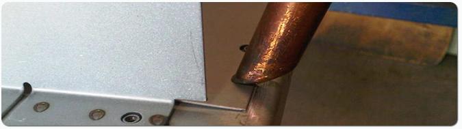 Spot welding sheet metal wide range of spot welding equipment for productron sheet metal fabrications sciox Gallery