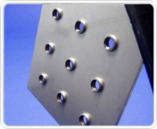 Extruded Tapped Hole Sheet Metal Tooling By Design Hole