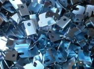 Zinc plated sheet metal work (Image X)