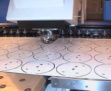 CNC punching sheet metal work in Hampshire, UK