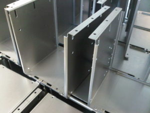 Mild steel sheet metal chassis for the audio industry