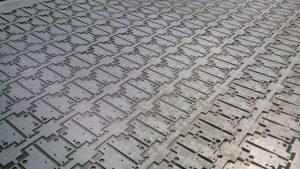 CNC punched zintec components