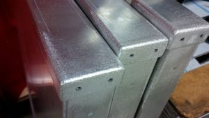 Aluminium TiG welded sheet metal fabrications