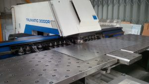 Trumpf 3000R CNC punch press in action