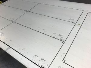 CNC punched sheet metal panels