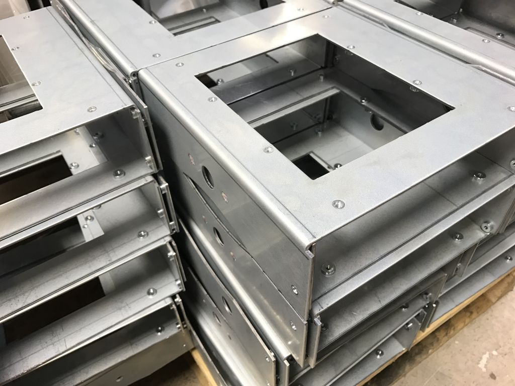 Sheet Metal Work With Pressed Inserts For Quicker Assembly