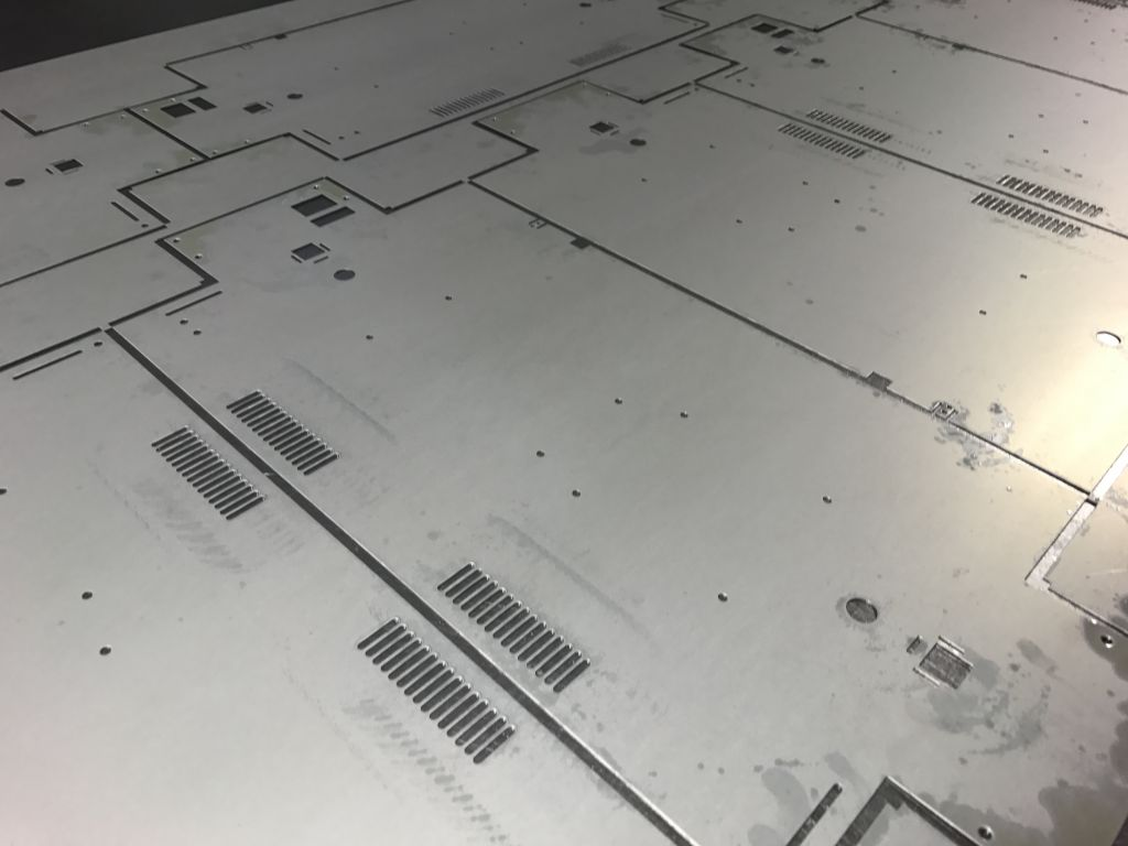 Cnc Punching Sheet Metal Work