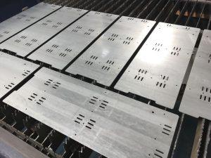 Laser Cutting Galvanised Mild Steel Sheet Metal Plates