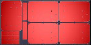 Laser cutting sheet metal work CNC program nest