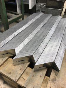 Sheet metal angle brackets