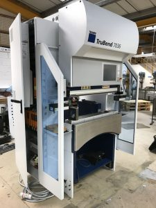 Perfect position for our Trumpf 7036