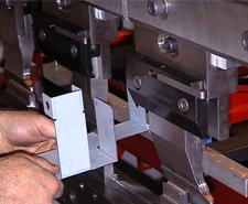 Bending sheet metal fabrications