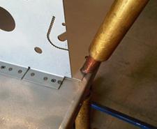Spot welded sheet metal fabrications