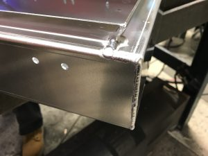 Welded sheet metal fabrications