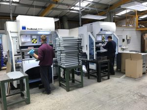 CNC folding with Trumpf 7036 press brakes
