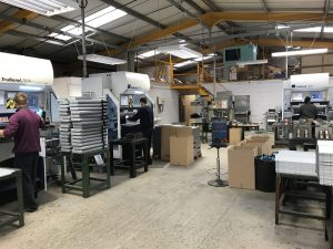 Sheet metal working in Hampshire Great Britain