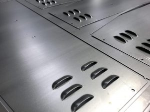 CNC punching ventilation louvres