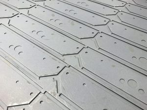 CNC punching sheet metal in the UK